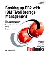 Backing up db2 using ibm tivoli sto...