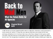 LUMA Digital Brief 004 - Back to Mad Men