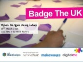 Badge Design Day for charities, emp...