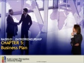 BAEB510 Chapter 5: Business Plan