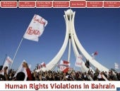 Bahrain-Human Rights Violations