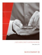 Bain report customer loyalty in ret...