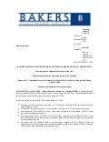 Q1 2009 Earning Report of Bakers Footwear Group