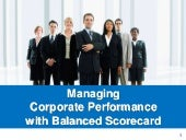 Balanced scorecard ppt slides