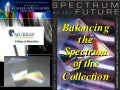 Balancing the spectrum of the collection 2003