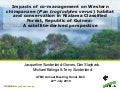 Impacts of co-management on Western chimpanzee habitat and conservation in Nialama Classified Forest