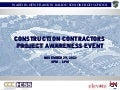 Ballou High School Contractor Awareness Event Presentation