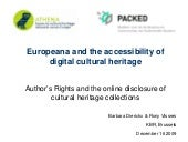 Europeana and the accessibility of ...
