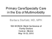 Barbara starfield presentation canc...