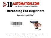 Barcoding for Beginners by IDAutoma...