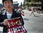 Your Guide to Bargaining in China
