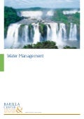 Position Paper: Water Management (IT)