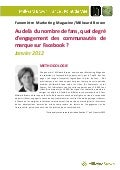 Fanomètre Marketing Magazine/Millward Brown - Janvier 2012