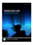 Barracuda Labs2009 Annual Report Final