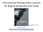 International Parking Policy Lesson...