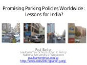 Promising Parking Policies Worldwid...