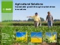 BASF Roundtable Agricultural Solutions 2012