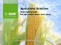 BASF Roundtable Agro Solutions