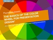 Basic color theory for presentation design - Part I