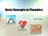 Basic concepts in phonetics