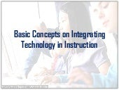 Basic concepts on integrating techn...