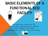 Basic elements of a functional ECD ...