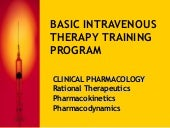 Basic Intravenous Therapy 2: Pharma...