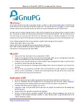 Basics of GnuPG (gpg) command in linux