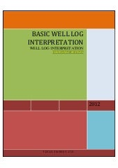 Basic well log interpretation