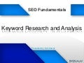 Longtail Keyword Research and Analysis - SEO Fundamental Workshop at BASIS