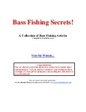 FREEBassfishingsecrets