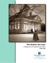 Batten Surveys Summary (12pgs)