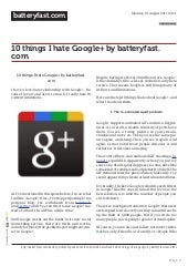 batteryfast.com-10 things I hate Go...