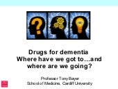 Drugs for dementia: Where have we g...