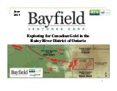 Bayfield Ventures Corp. video