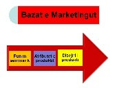 Bazat e marketingut punimi i produ...