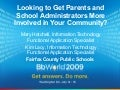 Best of BbWorld 09: Looking to Get Parents and School Administrators More Involved in Your Community?