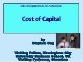 Bba 2204 fin mgt week 9 cost of cap...