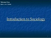 Bba L01 Dt   Introduction Of Sociology
