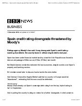 Bbc news  spain credit rating downg...