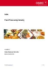 Bbf india foodprocessingindustry2009