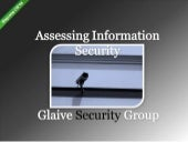 Glaive Security Group: Assessing In...