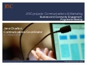JISC BCE Comms & Marketing