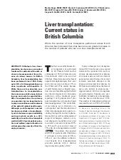 British Columbia Medical Journal - ...