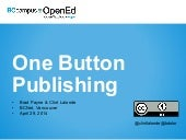 One Button Textbook Publishing with...