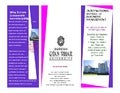 Bcom corporate secretaryship programme admission brochure for students doing cs with graduation