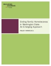 Ending Family Homelessness in Washi...