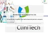 BioClinitech- Services And Capabili...