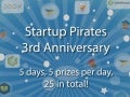 Startup Pirates Bday Giveaway