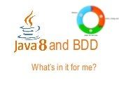 TDD and BDD in Java 8 - what's in it for me?